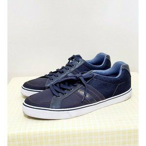 Levis Casual Canvas Lace Up Low Top Sneakers